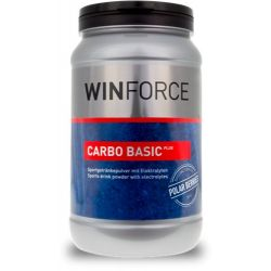 BEBIDA WINFORCE CARBO BASIC PLUS botes 800grs sabor Bayas Polares