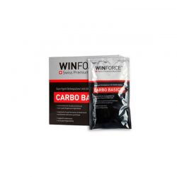 BEBIDA WINFORCE ENERGÉTICA CARBO BASIC PLUS + ELECTROLITOS limón SOBRES 60grs