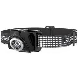 FRONTAL LED LENSER SEO 7R negro 220lm