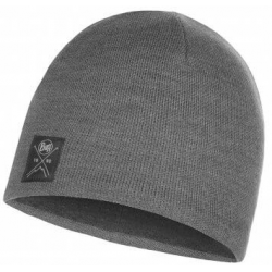 GORRO BUFF KNITTED y POLAR SOLID grey