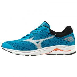 ZAPATILLA MIZUNO WAVE RIDER 22 jr blue orange grey