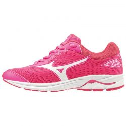 ZAPATILLA MIZUNO WAVE RIDER 22 jr pink white