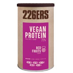 BEBIDA RECUPERADORA MUSCULAR 226ERS 700grs VEGAN PROTEIN RED FRUITS