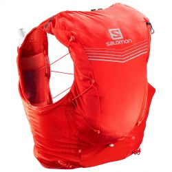 MOCHILA SALOMON ADV SKIN 12 SET FIERY RED