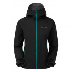 CHAQUETA IMPERMEABLE W MONTANE ATOMIC black