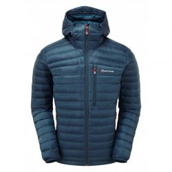 CHAQUETA PLUMÓN RDS MONTANE  FUTURE LITE HOODIE 750 narwhal blue