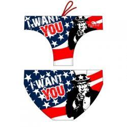 BAÑADOR  TURBO USA WANT YOU