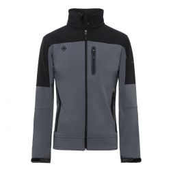 CHAQUETA IZAS LEGAN M SOFSHELL black dark grey