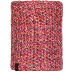 CUELLO BUFF TRICOT & POLAR MARGO FLAMINGO PINK