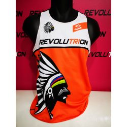 CAMISETA TIRAS REVOLUTRION SPIUK orange