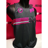 CAMISETA TIRAS REVOLUTRION MOHICANS grey fuxia