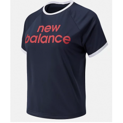 CAMISETA NEW BALANCE ACHIEVER GRAPHIC HIGH LOW ecl
