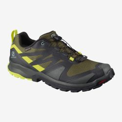 ZAPATILLA SALOMON IMPERMEBLE XA ROGG GTX olive night lime