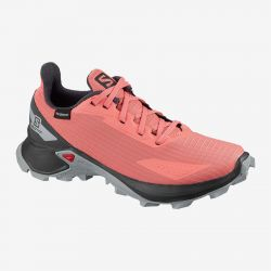 ZAPATILLA IMPERMEABLE SALOMON ALPHACROSS BLAST CSWP J burn coral