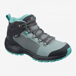 BOTA IMPERMEABLE SALOMON OUTward CSWP J lead ebony