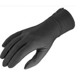 GUANTE SALOMON LINERS GLOVE black