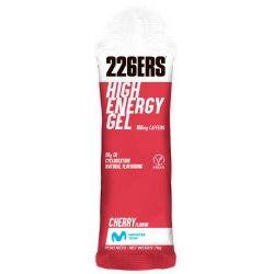GEL ENERGÉTICO 226ERS HIGH ENERGY GEL 60ml 160ml caffeine cherryy