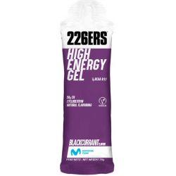 GEL ENERGÉTICO 226ERS HIGH ENERGY GEL 60ml bcca's blackcurrant