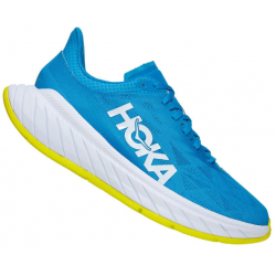 ZAPATILLA HOKA ONE ONE M CARBON X2 diva blue citrus