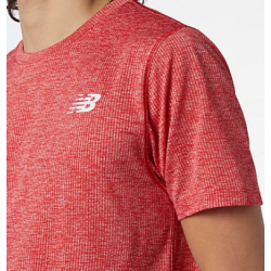 Camiseta NEW BALANCE MC Tenacity Corsa tean red inline