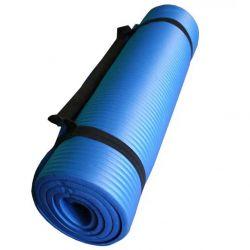 ESTERILLA YOGA PILATES CAMPING 180X60X1.5CM azul